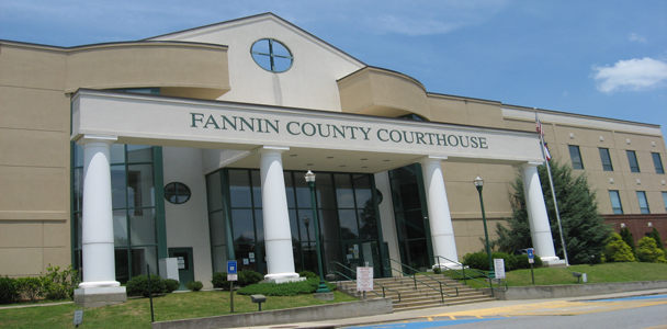 Fannin Court House