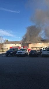 FetchYourNews, Blue Ridge, Fannin County, Georgia, Mineral Springs Apartments, Fire, Larry Thomas