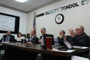Fannin County, Blue Ridge, Georgia, Fannin County Athletics, Board of Education, Superintendent, Dr. Michael Gwatney, Bobby Bearden, Lewis DeWeese, Terry Bramlett, Chad Galloway, Steve Stanley, East Fannin Elementary School, West Fannin Elementary School, Blue Ridge Elementary School, Fannin County Middle School, Fannin County High School, Athletic Director, Dr. Scott Ramsey, Fannin County School System, Donnie Kendall, ryan Walton, Cliff Shirah, Brian Johnson, Rebels