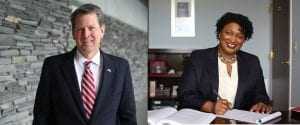 Georgia, May Primary Election 2018, General Election 2018, United States Representative District 9, Governor, Lieutenant Governor, Public Service Commissioner District 3, Public Service Commissioner District 5, Insurance Commissioner, Secretary of State, Sarah Riggs Amico, Geoff Duncan, Stacey Abrams, Brian Kemp, Doug Collins, Josh McCall, John Hitchins, Tricia Pridemore, Dawn Randolph, Doug Stoner, Chuck Eaton, Lindy Miller, John Noel, Johnny White, Jim Beck, Jay Florence, Tracy Jordan, David Belle Isle, Buzz Brockway, Josh McKoon, Brad Raffensperger, John Barrow, Dee Dawkins-Haigler, R.J. Hadley, Smythe Duval, Democrat, Republican, Post 2 Commissioner, Glenn Patterson, Dixie Carter, Fannin County Board of Education, Mike Cole, Susan DeMoura, Jeff DePaola, Bobby Bearden