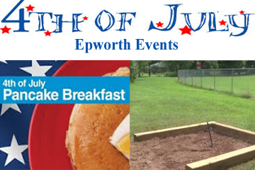 4th of July in Epworth Events