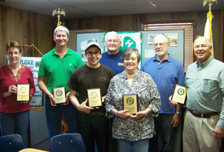 Fannin County 4-H Club Recognizes Donors