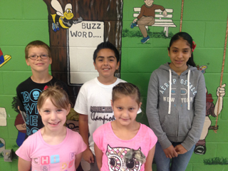 WFES April Student of the Month