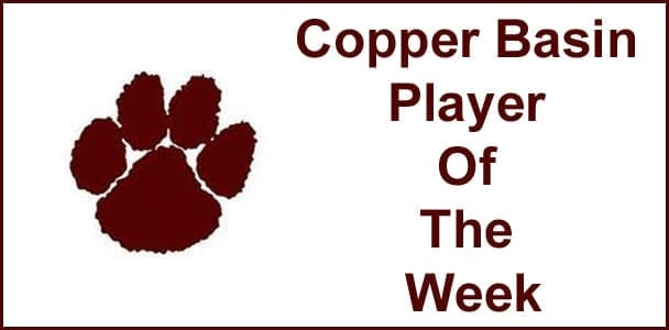 Copper Basin Player Of The Week: Chris Phelan