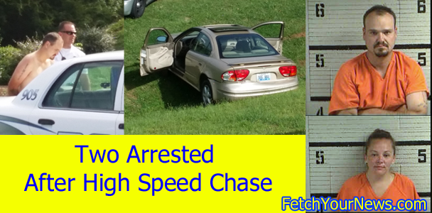 Blue Ridge High Speed Chase Ends in Crash